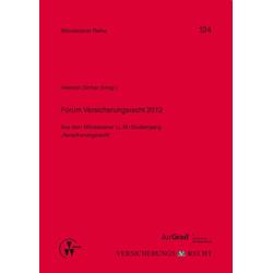 Forum Versicherungsrecht 2012 als Buch von