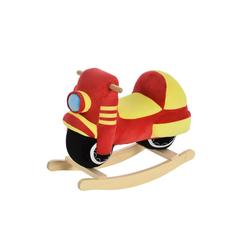 HOMCOM Schaukeltier Kinder Schaukelwippe als Motorrad