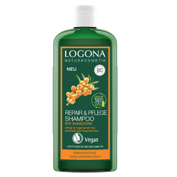LOGONA Repair & Pflege Shampoo Bio-Sanddorn 250 ml