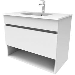 Sanotechnik Waschtisch SMART, Breite 60 cm weiß