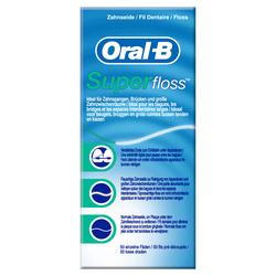 ORAL B Zahnseide Superfloss