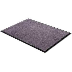 Fußmatte Miami Uni, SCHÖNER WOHNEN-Kollektion, rechteckig, Höhe 7 mm, waschbar grau 50 cm x 70 cm x 7 mm
