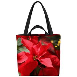 VOID Henkeltasche (1-tlg), Blumen Weihnachtsstern Pflanzen Christstern Weihnachtsstern Pflanze Blum