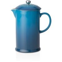 Le Creuset Kaffee-Bereiter Französische Presse 0,8 l Blau
