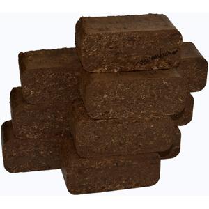 mumba - Probierset Rindenbriketts 24kg Holzbriketts, Holz-Briketts aus Rinde - ideal als Gluthalter