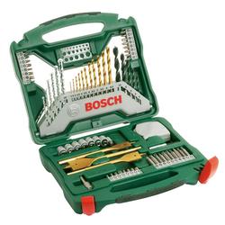 BOSCH Bohrer- und Bit-Set X-Line Titanium 70, 70-tlg. grün