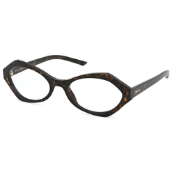 PRADA Brille PR 12XV braun