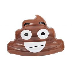 NPW Luftmatraze Emoji Kackhaufen, NPW55085