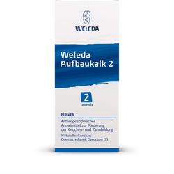 WELEDA Aufbaukalk 2 Pulver 45 g