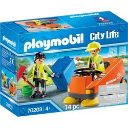 Playmobil® Konstruktions-Spielset Kehrmaschine (70203), City Life, (14 St)