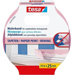 Malerband Tapeten 25mx25mm rosa