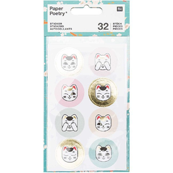 Sticker Jardin Japonais Katzen