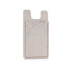 kwmobile Schutzfolie, Kreditkarten Karten Hülle - aus Stroh und Kunststoff - Scheckkartenformat Kartenschutzhülle