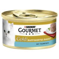 Purina Gourmet Gold Raffiniertes Ragout Thunfisch 85 g