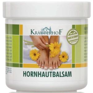Kräuterhof® Hornhautbalsam, Effektives Pflege-Hornhautbalsam für geschmeidige Haut, 250 ml - Dose