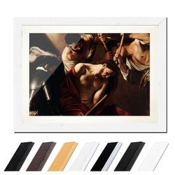 Bilderdepot24 Wandbild, Caravaggio - Dornenkrönung bunt 40 cm x 30 cm