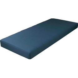 Jugendmatratze, Breckle, 12 cm hoch blau 90 cm x 190 cm x 12 cm