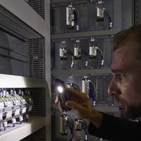 LedLenser iF2R LED-Baustrahler, wiederaufladbar, schwarz,