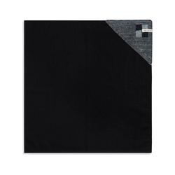 Knit Factory Geschirrtuch Geschirrtuch Block Schwarz/Stone, (Mode)