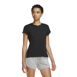 Nike Yoga Core W's SS - T-shirt - Damen Black S