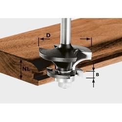 Festool Konterprofilfräser Nut HW S8 D43/21 A/KL