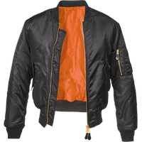 Brandit Textil MA-1 Jacket black 6XL