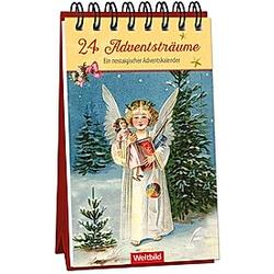 24 Adventsträume - Ein nostalgischer Adventskalender - Buch