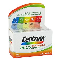 CENTRUM Plus Ginseng & Ginkgo Tabletten 1 g
