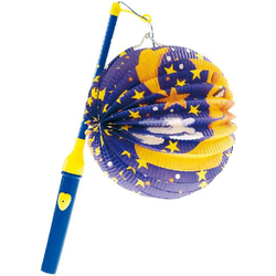 Amscan Lampion-Set für Kleinkinder Länge 30cm, Durchmesser 15cm 1001