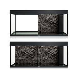Juwel Aquariendeko Aquarium Rückwand 3d grau