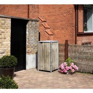 Mülltonnenbox für 1x 240 l,natur,