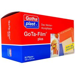 Gota Film Plus 3,8 X 3,8 cm Pflaster 80 Pflaster