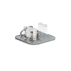 Neuetischkultur Geschirrständer Geschirrabstropfunterlage mit Wasserablaufrillen