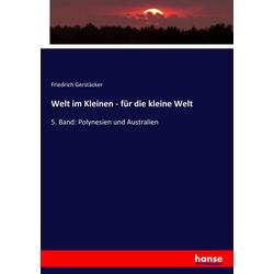 Welt im Kleinen - für die kleine Welt als Buch von Friedrich Gerstäcker
