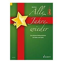Alle Jahre wieder  für Violine und Klavier  Klavierpartitur und Violinstimme - Buch
