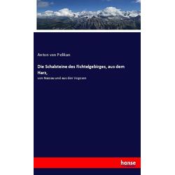 Die Schalsteine des Fichtelgebirges aus dem Harz als Buch von Anton von Pelikan