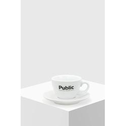 Public Coffee Roasters Cappuccino Tasse mit Untertasse