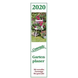 Conrads Gartenplaner 2020 - Streifenkalender