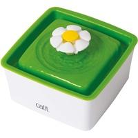 Catit 2.0 Mini Blumentrinkbrunnen 1.5 l, weiß/grün