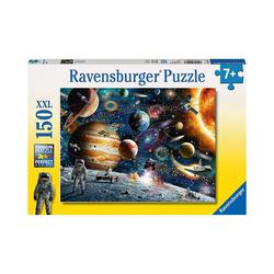 Ravensburger Puzzle Puzzle, 150 Teile XXL, 49x36 cm, Im Weltall, Puzzleteile