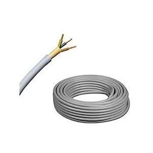 Elektro Kabel Mantelleitung NYM-J | 50m Ring, adriges Installationskabel (5x1,5 50m)