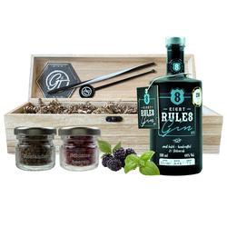 8 Rules Gin & Botanical Box