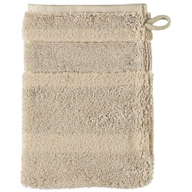 CAWÖ Waschhandschuh im 2er-Set ca. 16x22cm Cawö beige