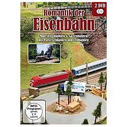 Romantik der Eisenbahn - Modelleisenbahnen & Gartenbahnen mit Parkeisenbahnen - DVD  Filme