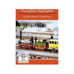 Dampflok Highlights - 150 Jahre Deutsche Eisenbahnen DVD