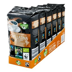 Bio Fairtrade Cafe Latina 500 g, 6er Pack