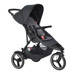 phil&teds dash V6 Kinderwagen ( 8 Farben ) Charcoal