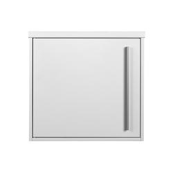 MOCAVI Briefkasten Briefkasten MOCAVI Box 101 signal-weiss (RAL 9003) 10 Liter Wandbriefkasten