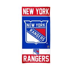 Handtuch NHL 150 x 75cm - Strandhandtuch New York Rangers