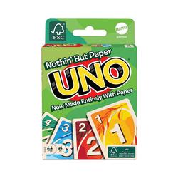 Mattel® Spiel, UNO, 100% Papier